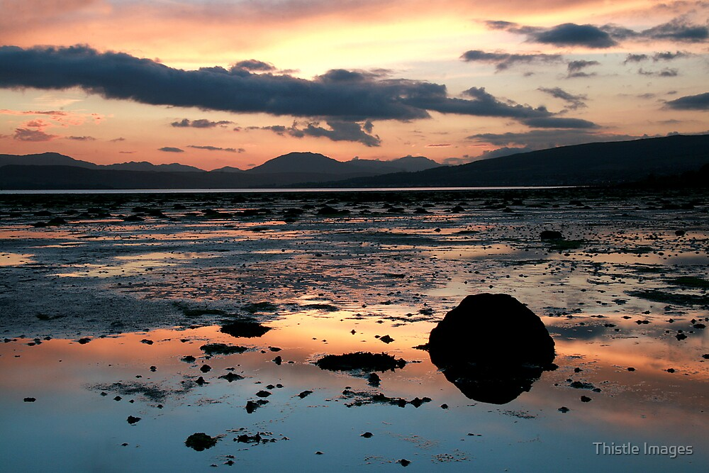 Cardross Sunset by Thistle Images