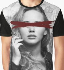 Dead Pop Stars Of Our Youth - Jennifer Lawrence Graphic T-Shirt
