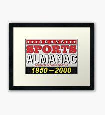 Biff's Almanac Framed Print