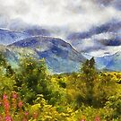 Ben Nevis, Scotland, UK by David Carton