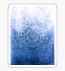 Enchanted Indigo - watercolor + doodle Sticker