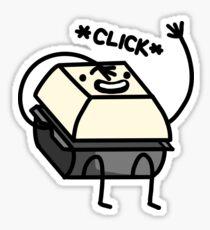 Lil' Keyboard Guy Sticker