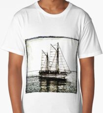 Ship Out to Sea Long T-Shirt