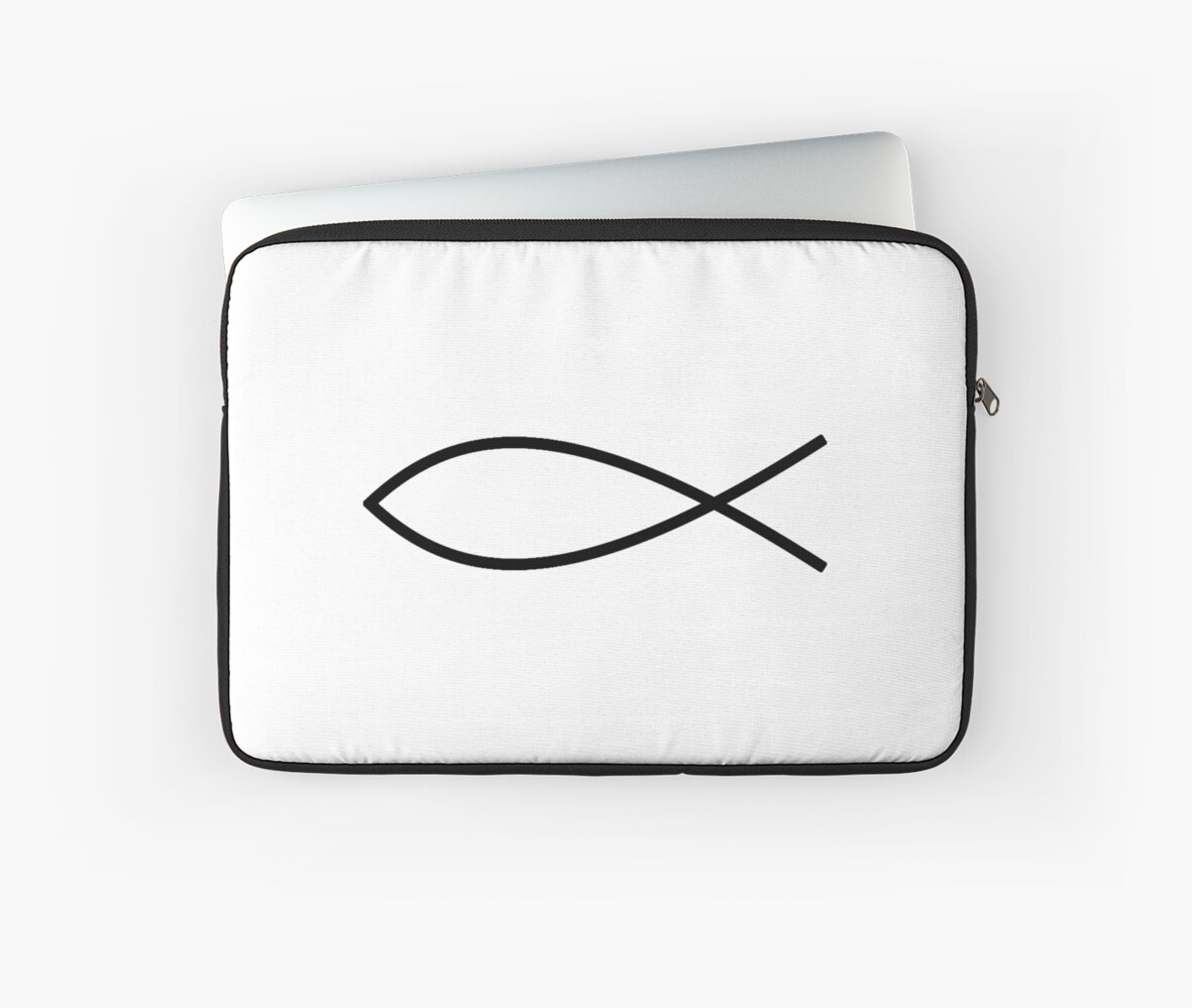 Ichthus Jesus Christianity Fish Secret Christian Symbol