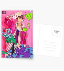 NCT 127 Taeil CHERRY BOMB Postcards