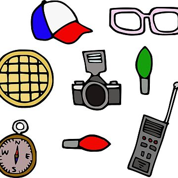 Stranger Things Symbols by ColorfulKai