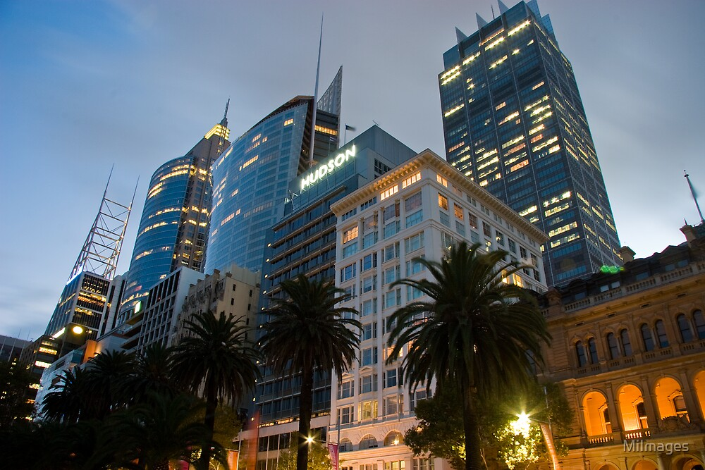 Macquarie Street Sydney Cityscape by MiImages