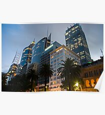 Macquarie Street Sydney Cityscape Poster