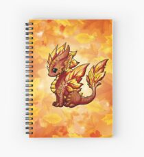 Autumn Dragon Spiral Notebook