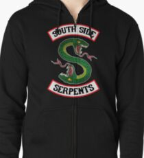 South Side Serpents (Jacket version) Zipped Hoodie