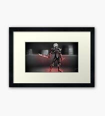 LVL99 Raiden [Metal Gear Rising] Framed Print