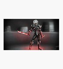 LVL99 Raiden [Metal Gear Rising] Photographic Print