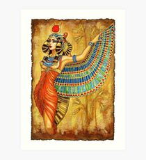 The Goddess Isis Art Print