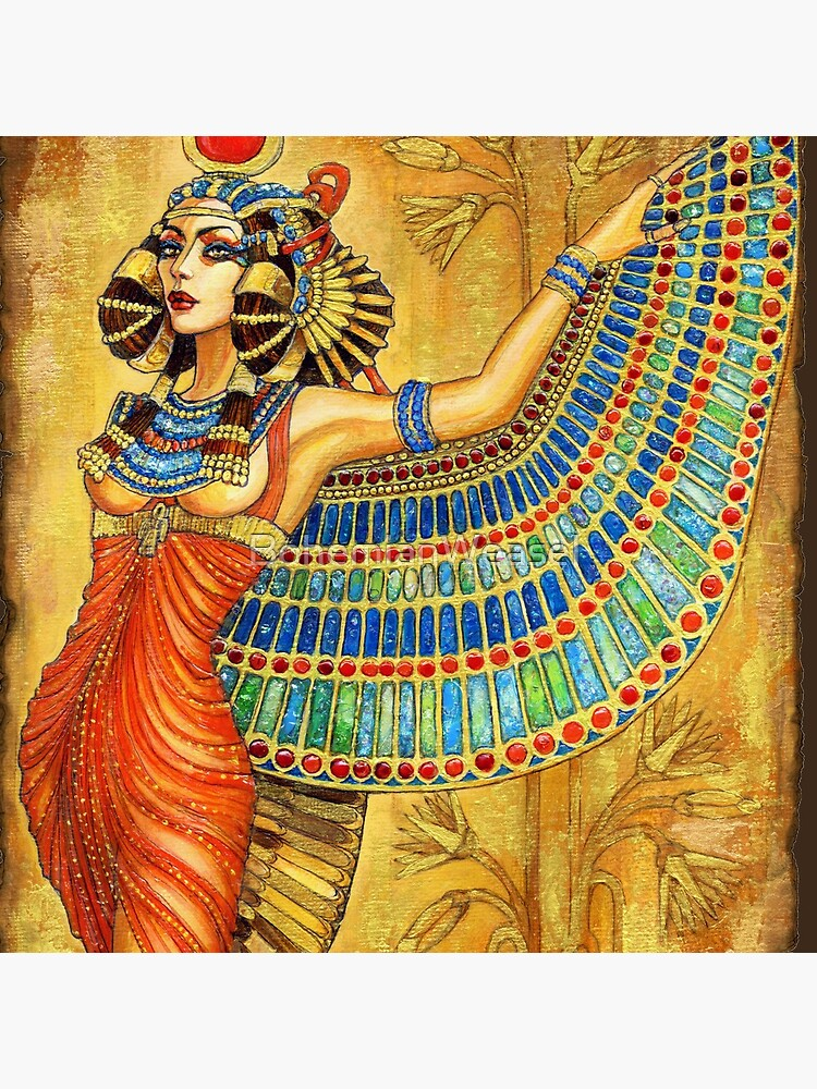The Goddess Isis by BohemianWeasel