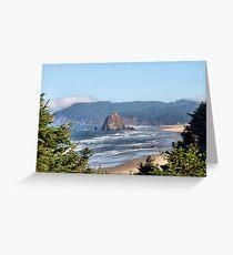 Along the Washington Coast Greeting Card