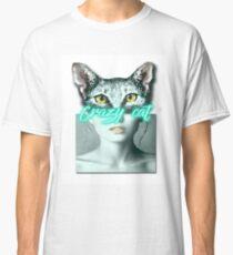 Crazy cat Classic T-Shirt