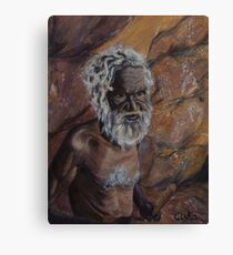 Dreamtime Elder Canvas Print