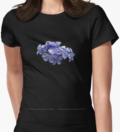 Pretty Plumbago with Raindrops T-Shirt