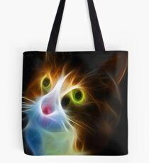 <º))))>< U LIGHT UP MY LIFE CAT VERSION TWO CARD/PICTURE<º))))><  Tote Bag
