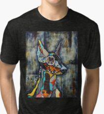 Doberman Pinscher Tri-blend T-Shirt
