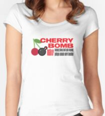 NCT 127 CHERRY BOMB Women's Fitted Scoop T-Shirt