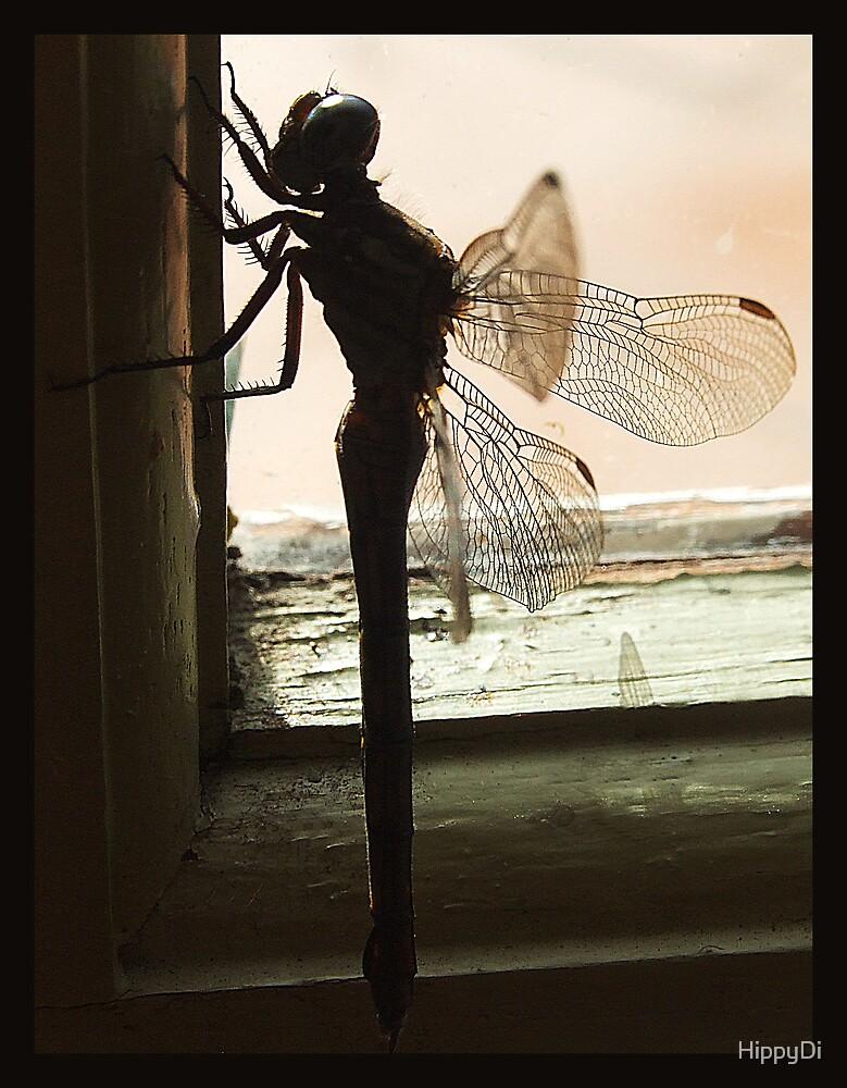 Rustic Dragon Fly by HippyDi