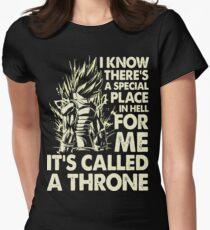Dbz goku vegeta Women's Fitted T-Shirt