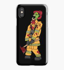 Zombie Fireman iPhone Case