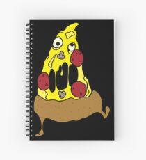Zombie Pizza Spiral Notebook