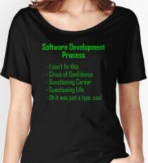 Software Development Humour - Green Design Women's Relaxed Fit T-Shirt