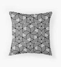 Wavy Regular Pattern Throw Pillow