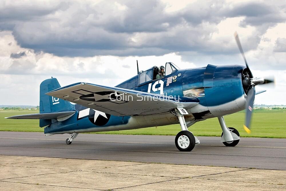 Grumman F6F-5K Hellcat 80141 G-BTCC by Colin Smedley