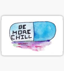 Be More Chill Sticker