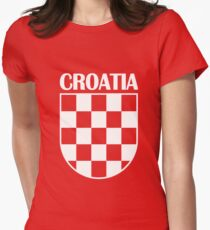 CROATIA 4 Women's Fitted T-Shirt