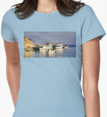 Halki Ferries Women's Fitted T-Shirt