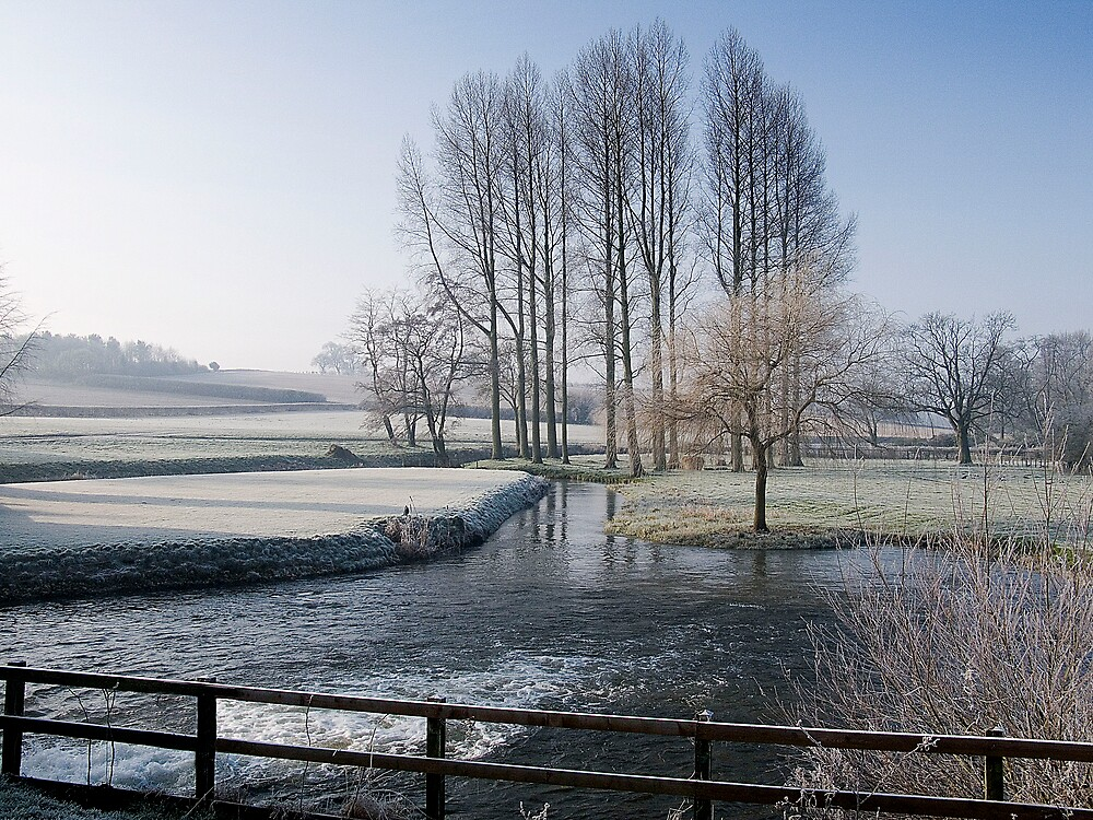 Winter by the River Wensum in Norfolk by johnny2sheds