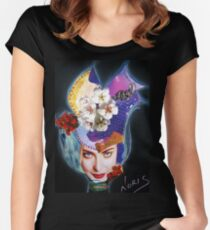 Tulip on the wind Women's Fitted Scoop T-Shirt