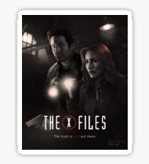 The X-files Poster s11 n°2 Sticker