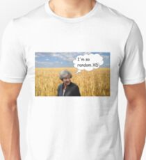 """""""I used to run through the fields of wheat"""" Unisex T-Shirt"""