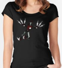 rock-it-boy! now in stunning 3D remix Women's Fitted Scoop T-Shirt