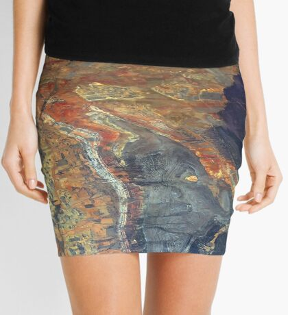 Folded Rock Mini Skirt