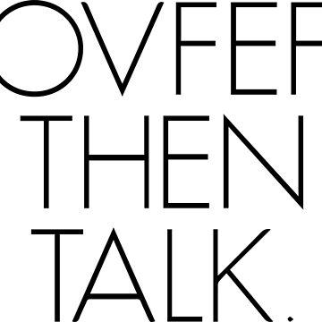 Covfefe, Then Talk. by AlternativeArt