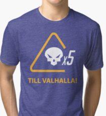 Mercy till valhalla Tri-blend T-Shirt
