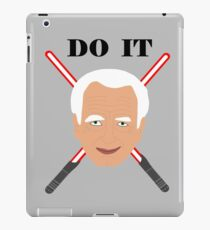 Emperor Palpatine - do it iPad Case/Skin