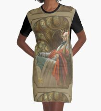 The Elf King throned Graphic T-Shirt Dress