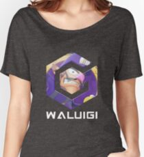 Waluigicube Women's Relaxed Fit T-Shirt