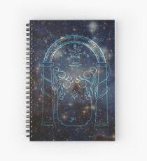 Gate to Moria Spiral Notebook