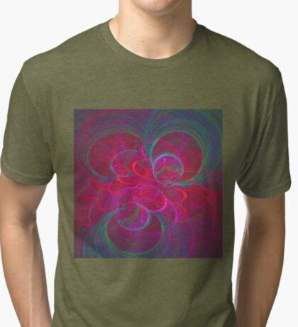 Orbital fractals Tri-blend T-Shirt