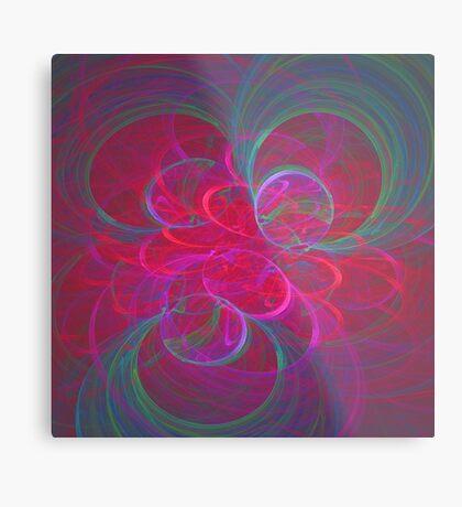 Orbital fractals Metal Print