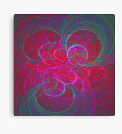 Orbital fractals Canvas Print